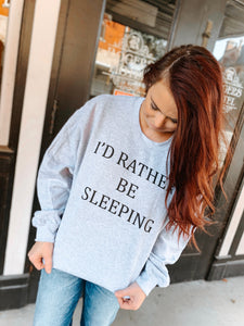 Id rather be sleeping
