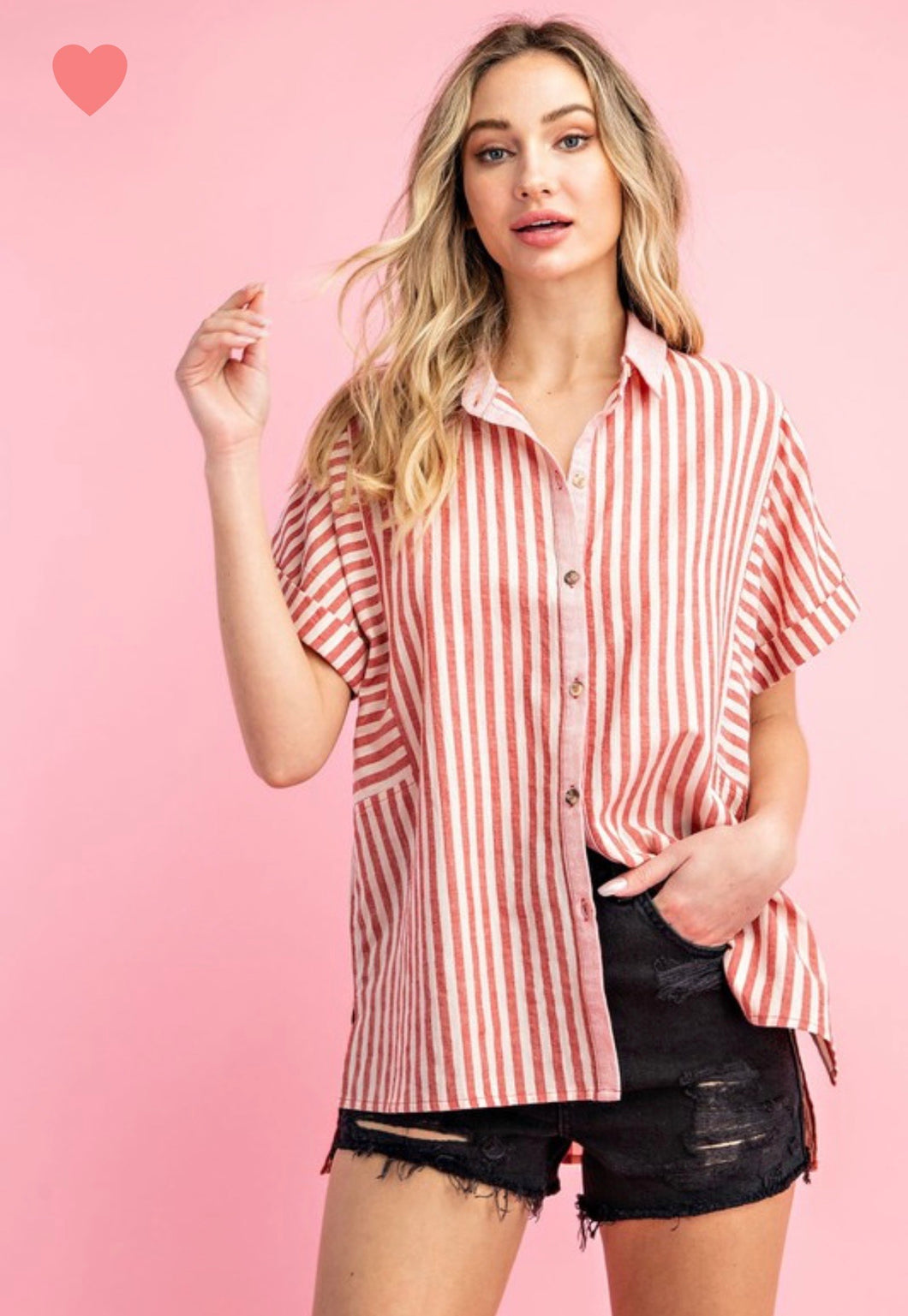 Candy Stripe Top