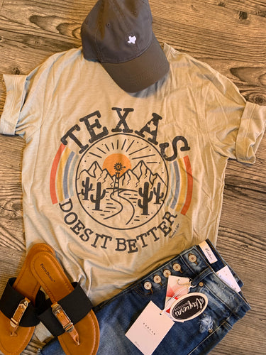 Texas Does It Better Tee