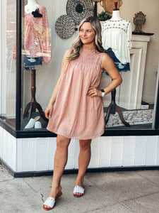 Tan Blush Dress