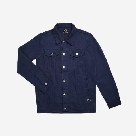 Exventura Canvas Solid Navy