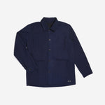 Acro Jacket Navy Canvas Solid