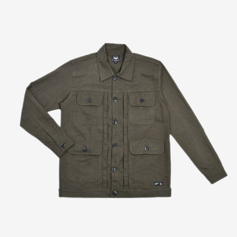 Alpina Jacket Reseda Green Canvas Solid