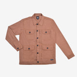 Alpina Jacket Wood Brown Canvas Solid