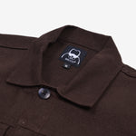 Alpina Jacket Dark Brown Canvas Solid