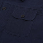 Rex Jacket Navy Canvas Solid