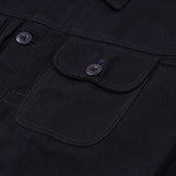 Alpina Jacket Black Canvas Solid