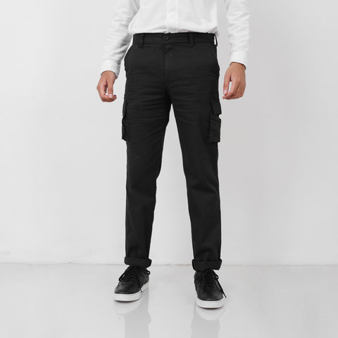 Escape Cargo Pants Black