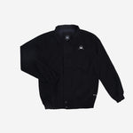 Rion Jacket Black Canvas Solid