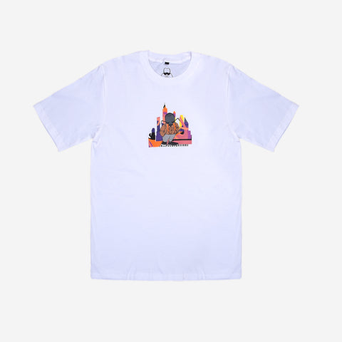 T-Shirt Ant City White