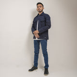 Adams Jacket Navy EP Canvas Solid