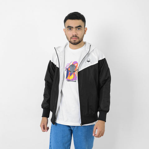 Xever Jacket White-Black