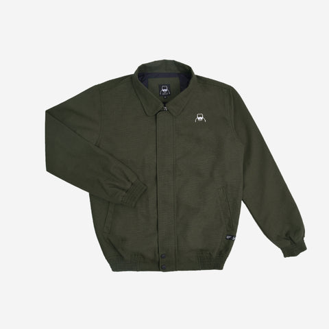 Rion Jacket Reseda Green Canvas Solid