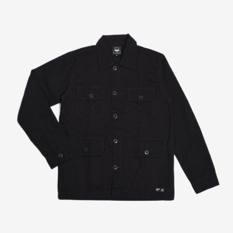 Adams Jacket 2.0 Black Canvas Solid