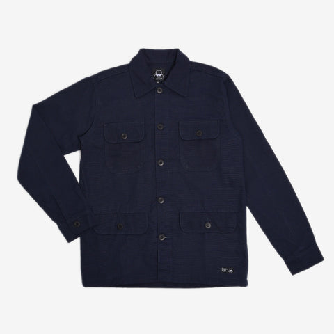 Adams Jacket 2.0 Navy Canvas Solid