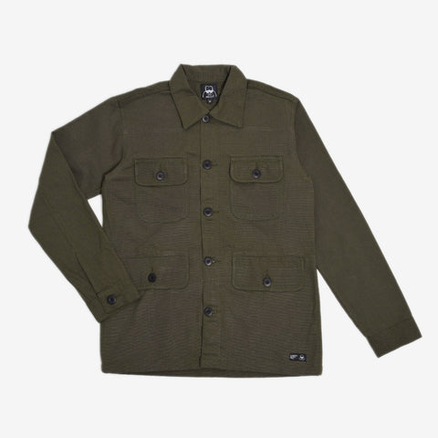 Adams Jacket 2.0 Reseda Green Canvas Solid