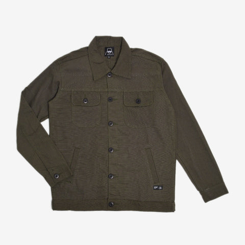 Chester Jacket 2.0 Reseda Green Canvas Solid