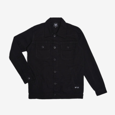 Chester Jacket 2.0 Black Canvas Solid