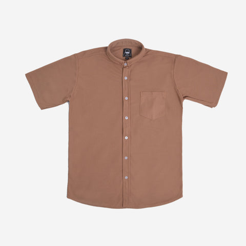 Cexa Shirt Short Sleeve Mocca