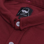 Cexa Shirt Short Sleeve Maroon