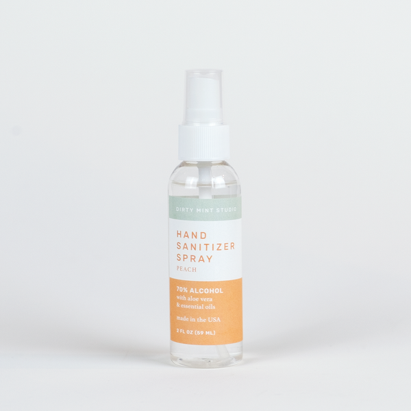 HAND SANITIZER SPRAY <br>/PEACH/