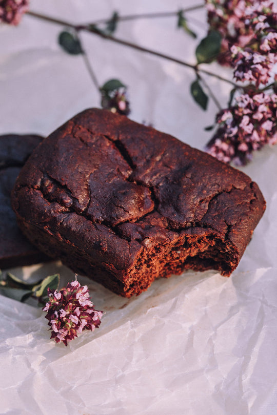 Sweet Potato Brownie with Chocolate Chunks