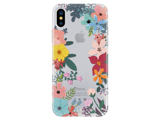 Capa 4u Flowers 4-OK para iPhone X/XS