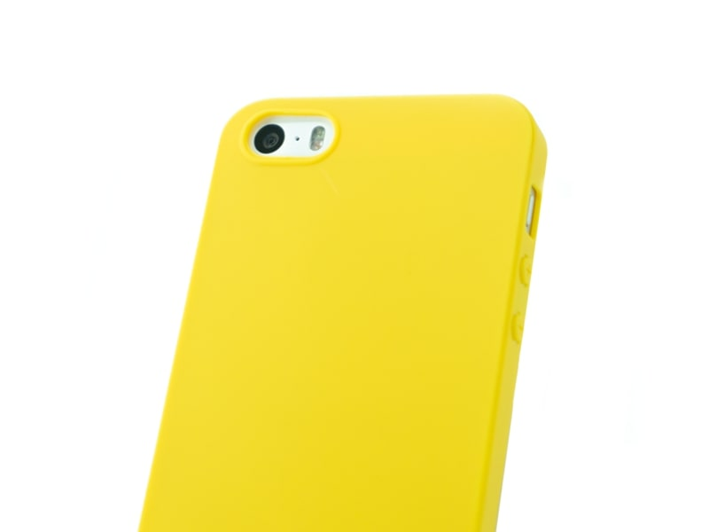 Capa Second Skin Apple iPhone 5S/SE Amarela