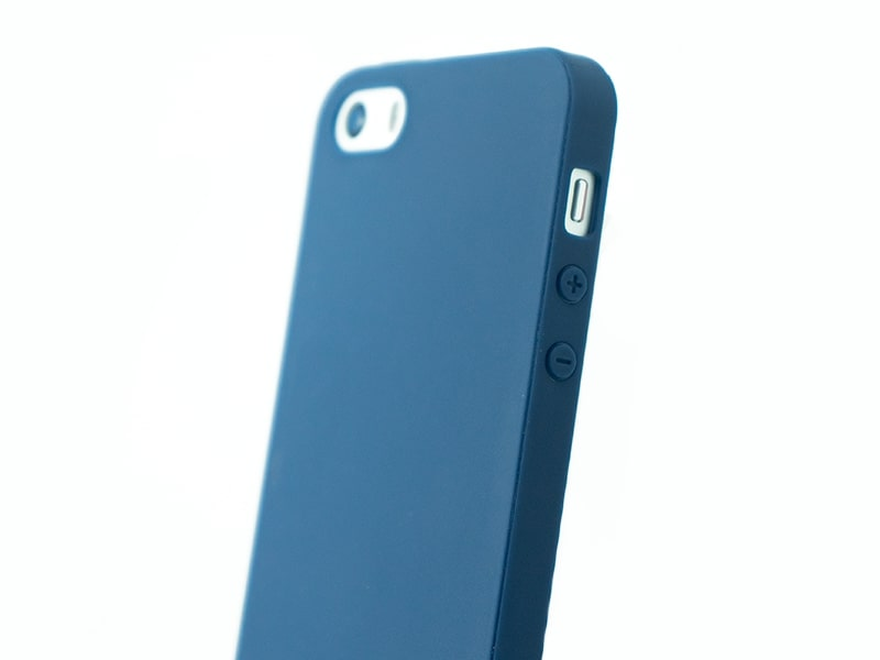Capa Second Skin Apple iPhone 5S/SE Azul