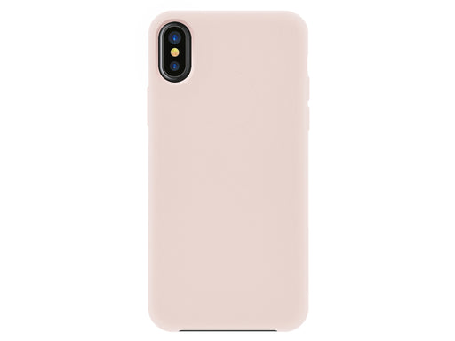 Capa Velvet Touch iPhone X/XS Rosa 4-OK