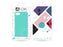 4-OK Velvet Touch iPhone 6/6S/7/8 Turquoise Blue Back