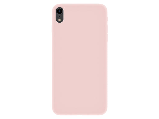 Capa Velvet Touch iPhone XR Rosa 4-OK