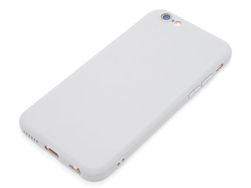 Capa Second Skin Apple iPhone 6/6S Cinza Laying