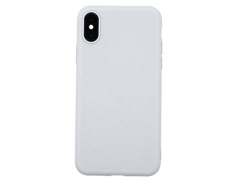 Capa Second Skin Apple iPhone X/XS Cinza Back