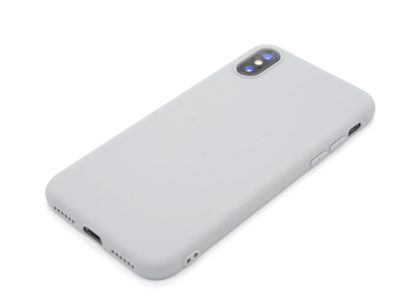 Capa Second Skin Apple iPhone X/XS Cinza Laying
