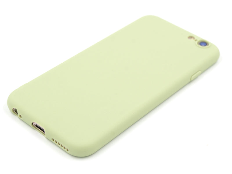 Capa Second Skin Apple iPhone 6/6S Matcha Green Laying