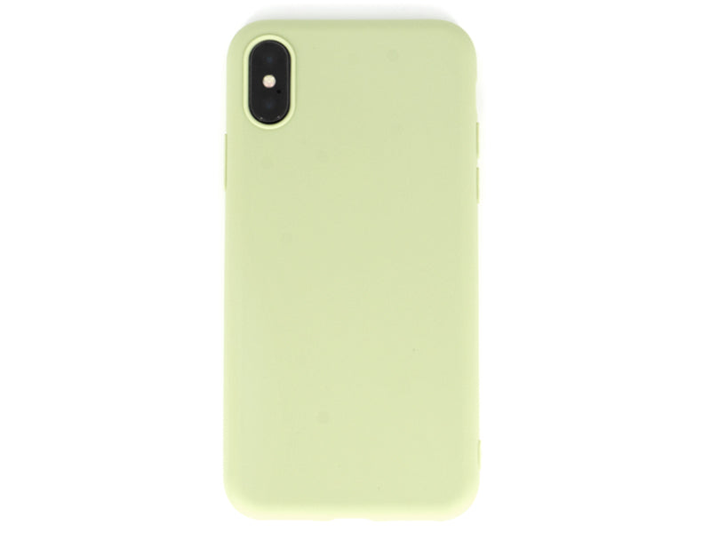 Capa Second Skin Apple iPhone X/XS Matcha Green Back
