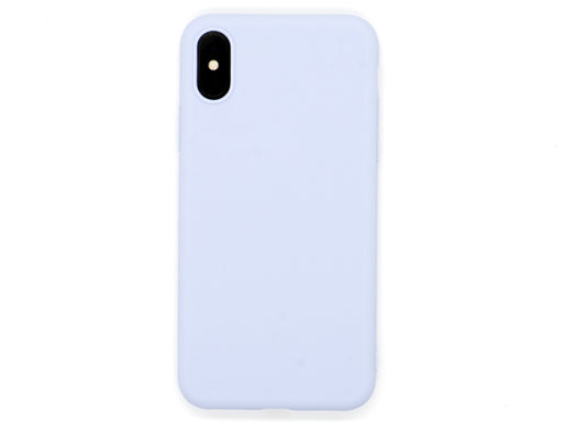 Capa Second Skin Apple iPhone X/XS Azul Claro Back
