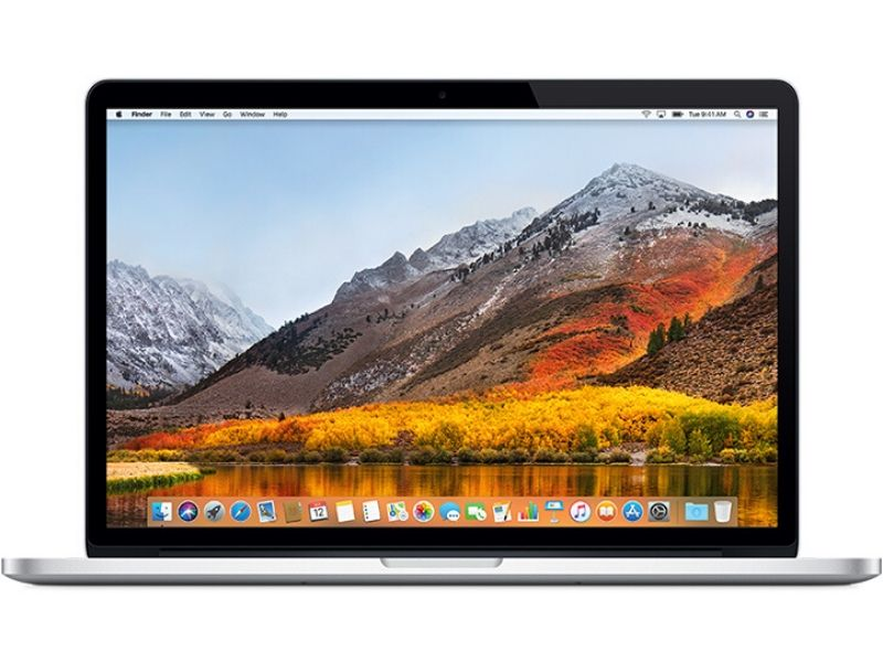 MacBook Pro 15 polegadas Retina (2.2GHz Quad-core Intel Core i7 - 16GB RAM - 256GB SSD) - Silver