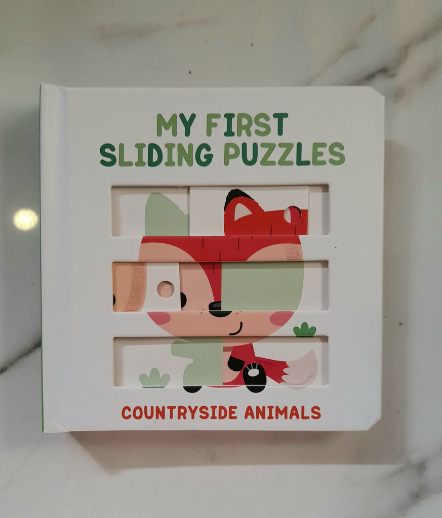 My first sliding puzzles countryside Animals