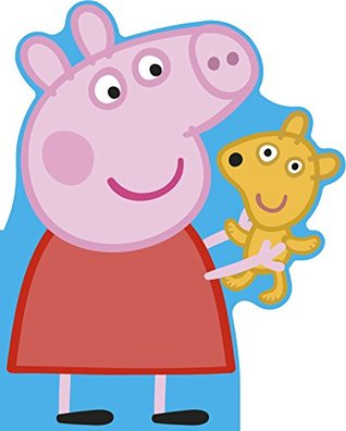 Peppa Pig: All About Peppa: A Peppa-shaped board book
