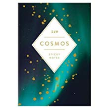 Cosmos Hardcover Book of Sticky Notes