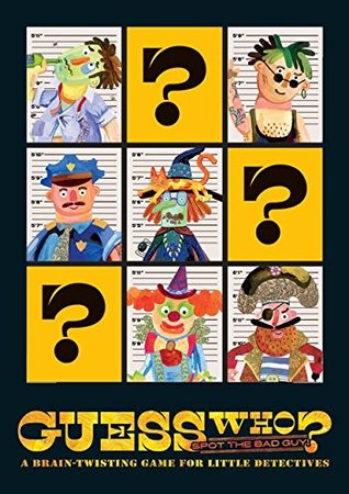 Guess Who?: Spot the Bad Guy - A Brain-Twisting Game for Little Detectives