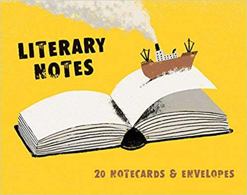 Literary Notecards: 20 Notecards and Envelopes
