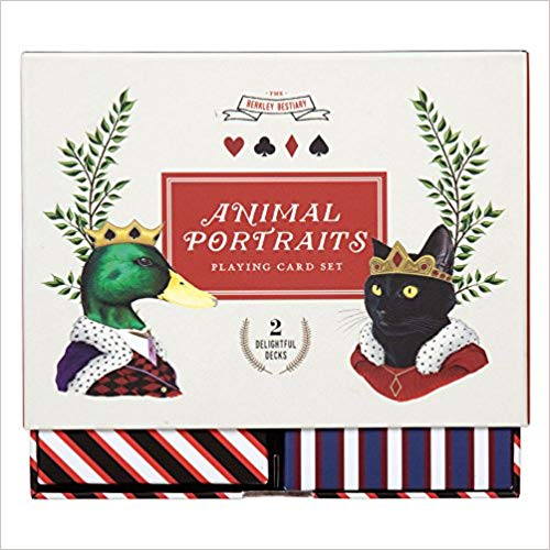 Berkley Bestiary Animal Portraits Playing Card Set