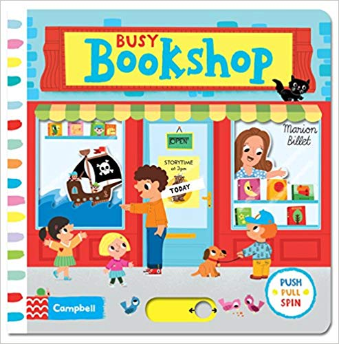 Busy Bookshop (Campbell Busy Books)