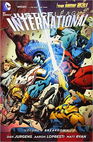 Justice League International: Breakdown
