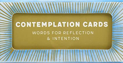 Contemplation Cards: Words for Reflection & Intention