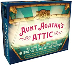 Aunt Agatha's Attic (Fun & Fast Family Card Game, Quick & Easy Negotiation & Set Collection Game)