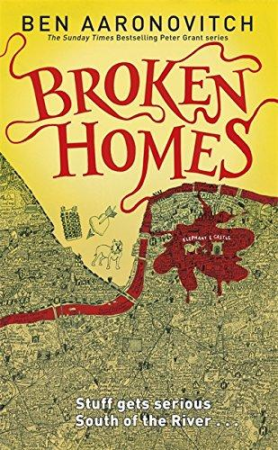 Broken Homes Hardback (A Rivers of London Novel)